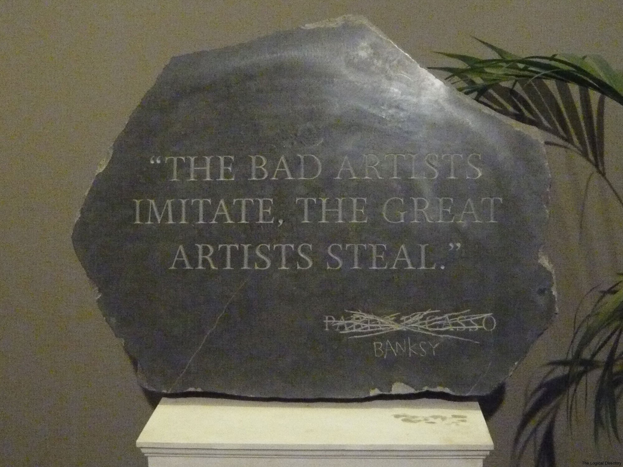 Banksy - Bad Artists and Great Artists