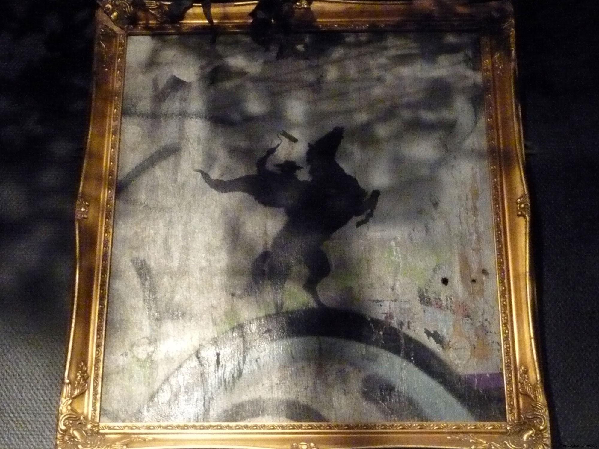 Banksy - Concrete Bandido