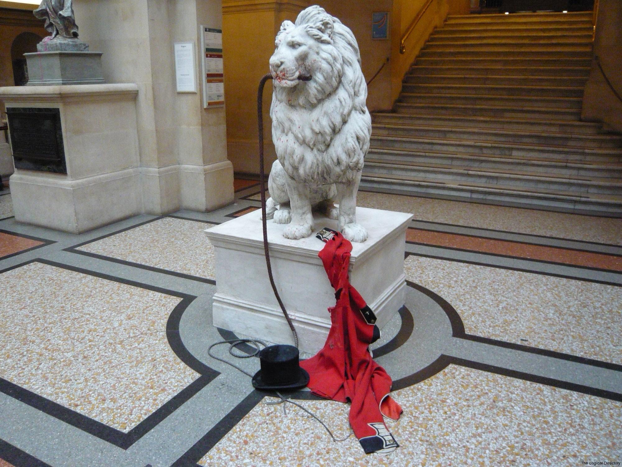 Banksy - The Lion Tamer