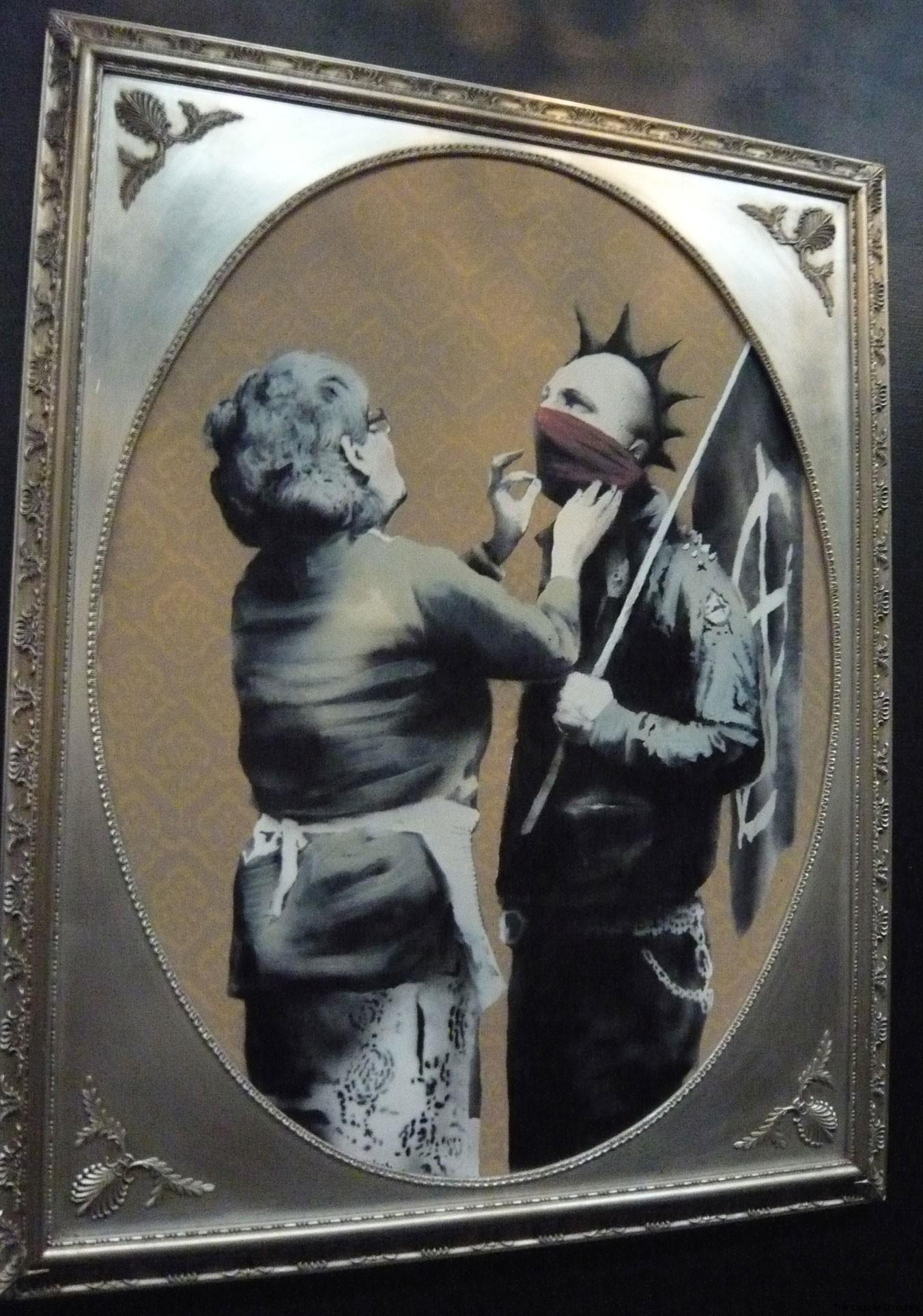 Banksy - Anarchist Mothers Boy