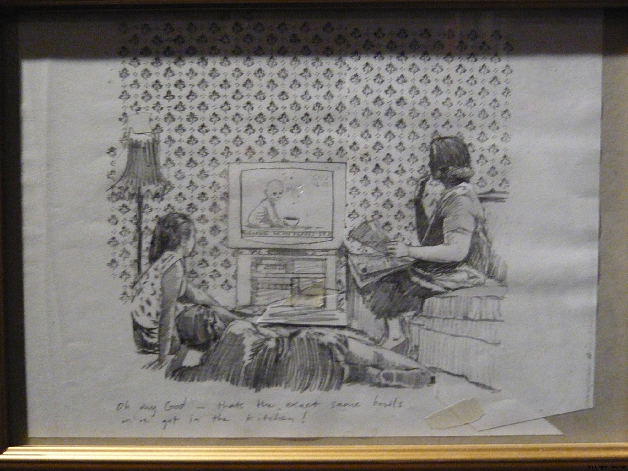 Banksy Pencil on Paper Sketching