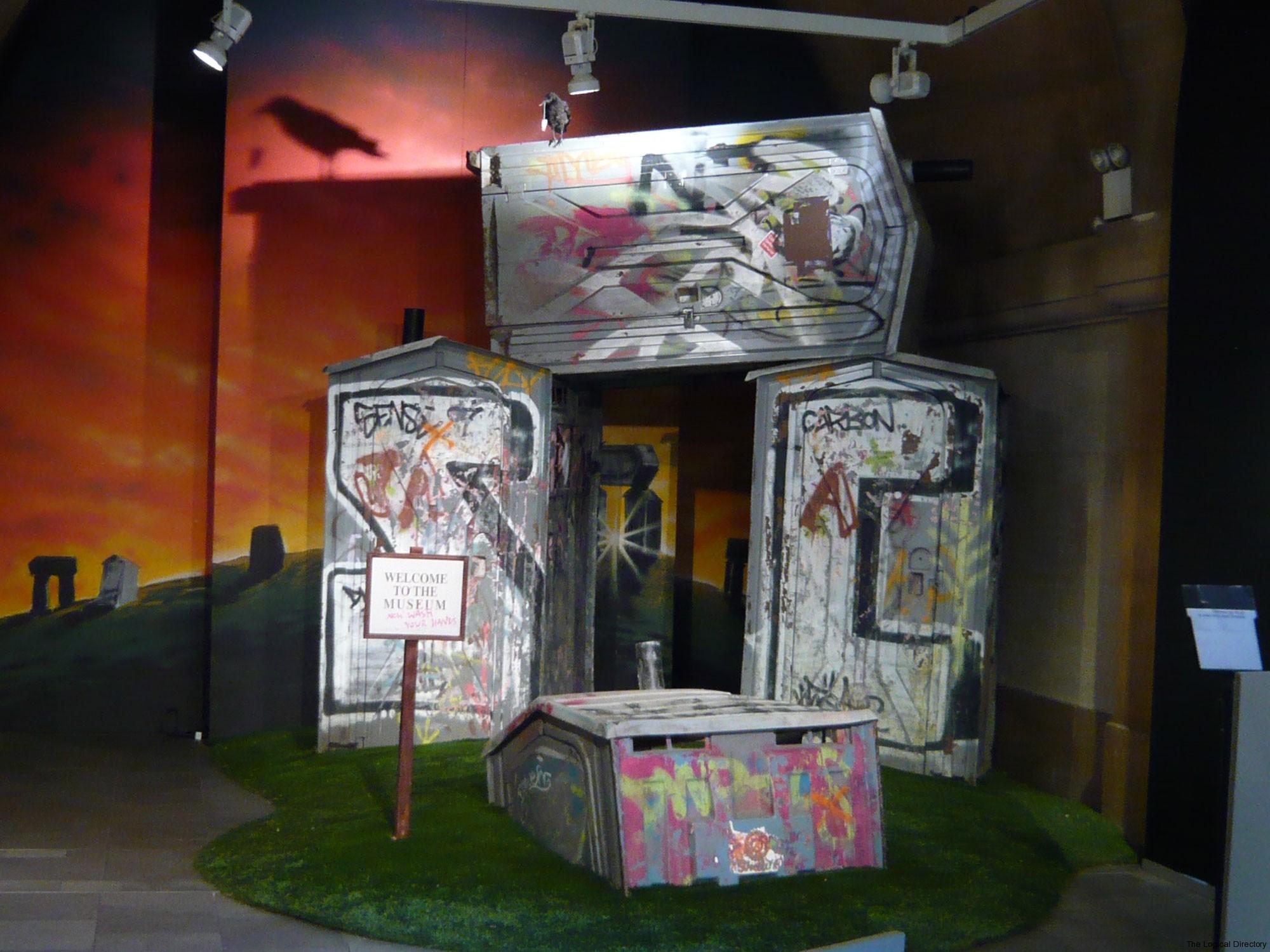 Banksy Portaloo Stonehenge