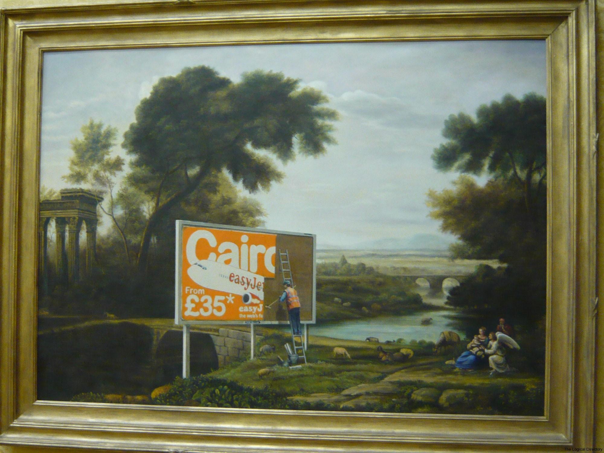 Banksy - Rural Advertising