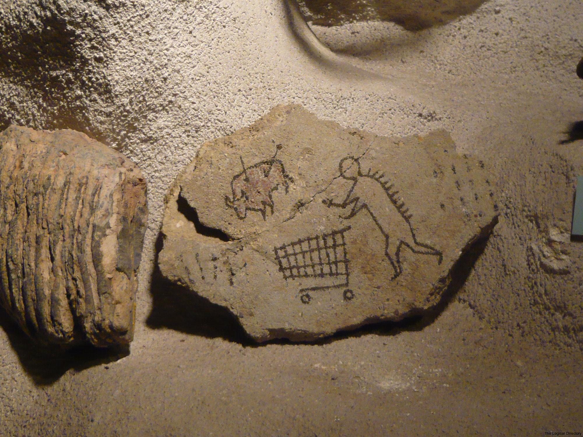 Banksy - Stone-age Shopping