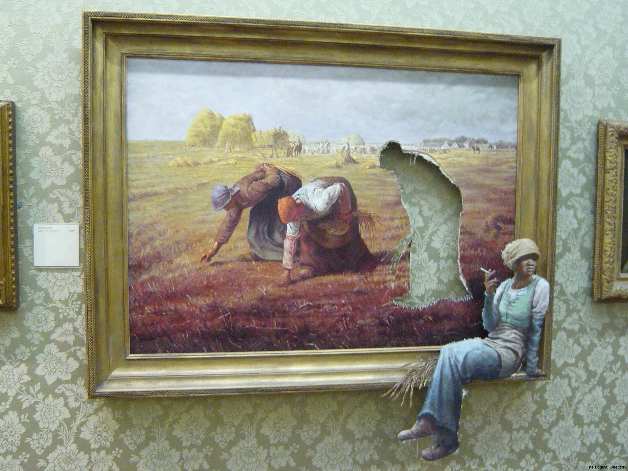 Banksy - The Gleaners \'Agency Work\'