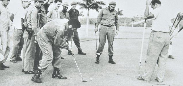 Fidel Castro and Che Guevara - Golf