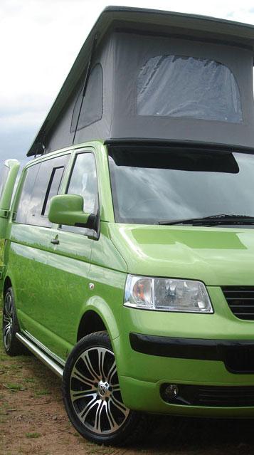 Converted Pop-Top T5 Campervan